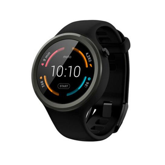 Motorola摩托罗拉 新一代 Moto 360 智能运动时尚手表图片