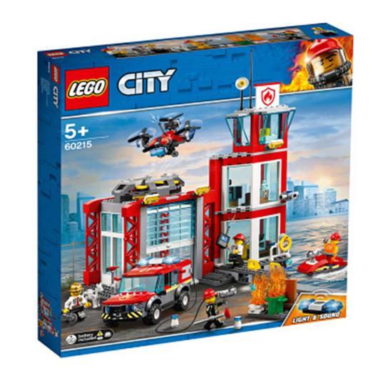 乐高(LEGO)积木 城市组系列City消防局图片